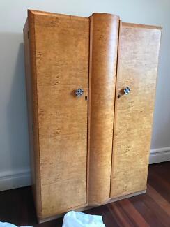 2 antique wardrobes