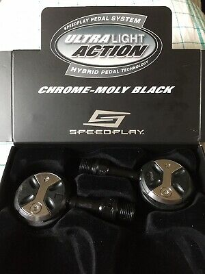 NEW Speedplay ULTRA Light Action Chromoly Pedals Road Bike Chrome-Moly Cromoly