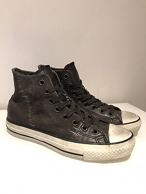 CONVERSE X JOHN VARVATOS STAPLED ALL STAR HIGH-TOPS UK 7 *EXCELLENT* CONDITION