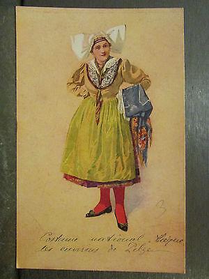 CPA République Tschechische Kostüm National - Tschechische Kostüm