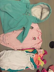 7 size 3 mth tops girls