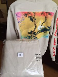 KIDS SEE GHOSTS HOODIE  V1 Medium Yeezy Off White Louis Vuitton