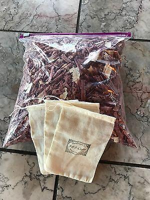 Aromatic  Red Cedar Wood  Chips Shavings 1 gallon bag full repell bugs deodorize