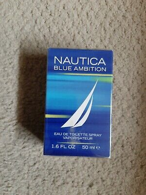 Nautica Blue Ambition Men's Cologne - Eau de Toilette 1.6 oz / 50 ml New Sealed!