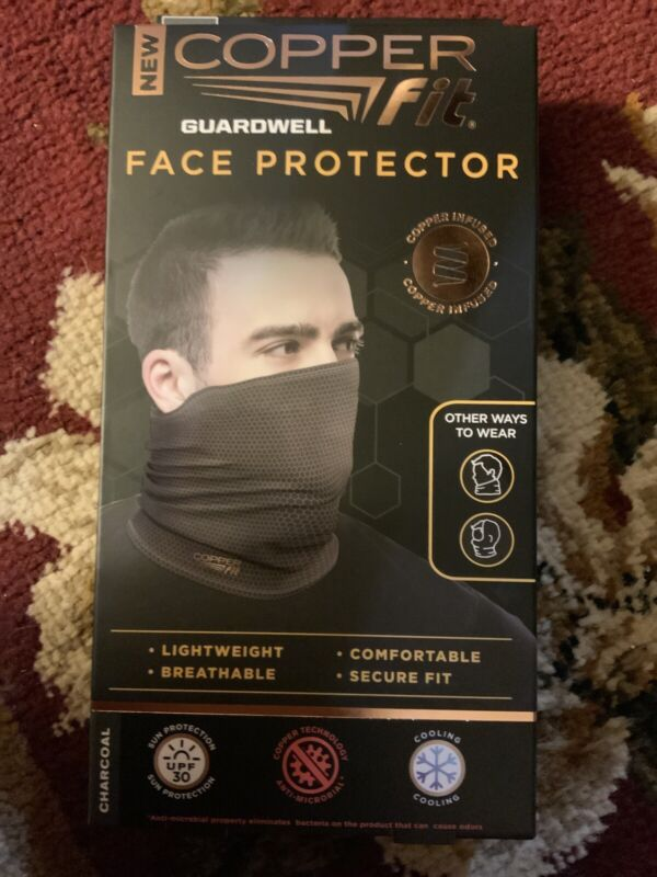 NEW Copper Fit Face Protector Mask Fashionable, Reusable, High quality One Size