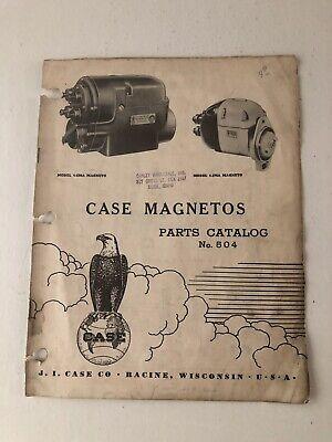 Case Magnetos Parts Catalog 504-1949