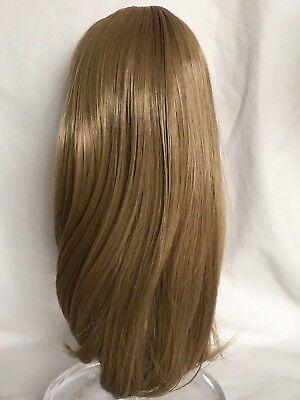 Doll wig 10-11 light brown (102)