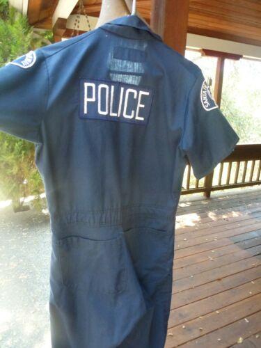Santa Fe Railroad Railway Police Jump Suit, Overalls Size 34