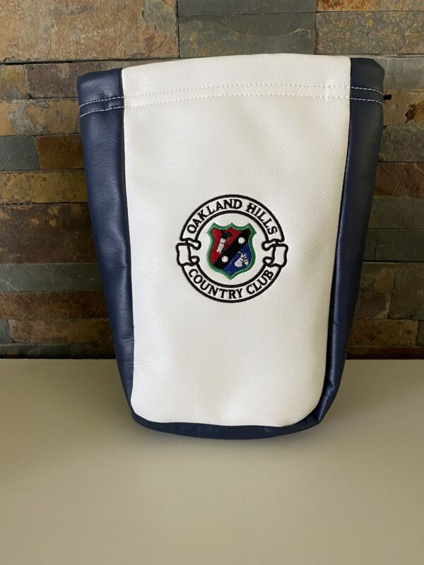 Oakland Hills Country Club Golf Valuables Pouch Rare NEW Blue/White