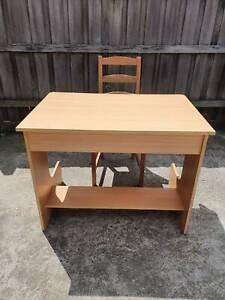 D100 💗 STUDY TABLE   IKEA CHAIR   IKEA CUSHION