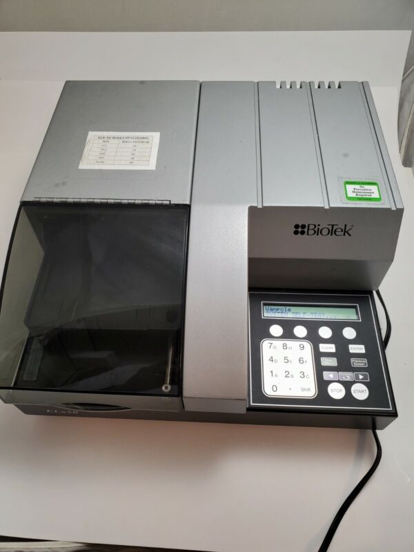 BioTek ELx50 8 Channel Automated Microplate Strip Washer