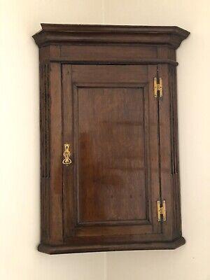 antique mahogany Corner cupboard