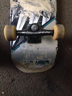 Tony Hawk skate board and blind side deck