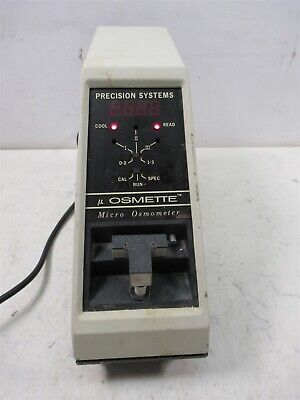 Precision Systems 5004 Osmette Micor Osmometer Automatic High Sensitivity 50 L