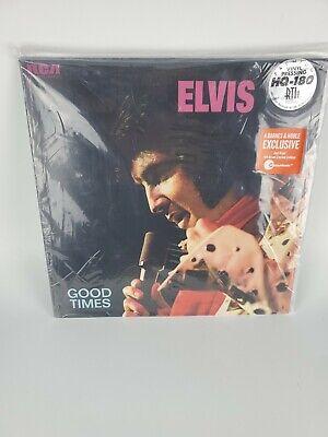 ELVIS PRESLEY GOOD TIMES LP RED VINYL 180 GRAM LIMITED EDITION 2019 EXCLUSIVE