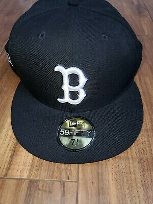 New Genuine Merchandise Skate Fitted Hat Cap New Era 59FIFTY Black 7 5/8 Flores