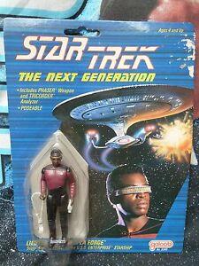 GALOOB. LT LA FORGE FIGURE. STAR TREK NEXT GENERATION. 1988. RARE.
