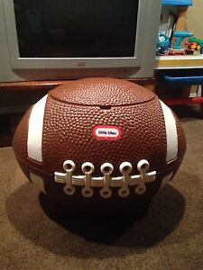 Little tikes football toy box