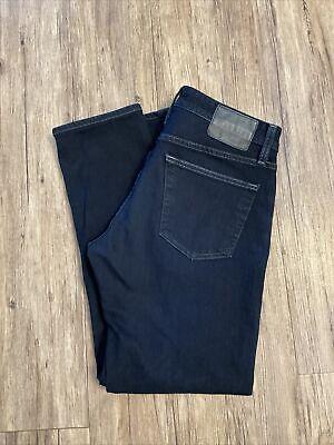AG Adriano Goldschmied The Tellis Modern Slim Dark Stone Denim Jeans Size 33x30