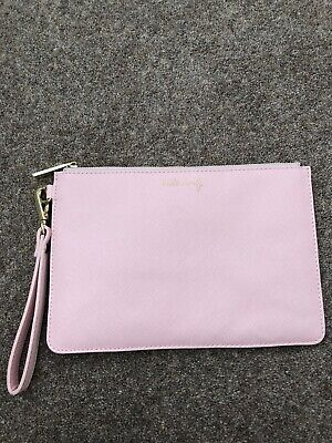 Katie Loxton Pink Secret Message Pouch 'Hello Lovely'   *Great Condition*
