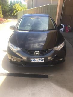 Honda Civic Hatch Black 2013