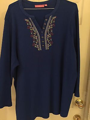 Womens Very Comfortable Long Sleeve Shirt From Woman Within
