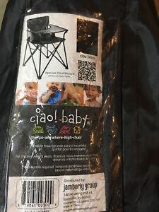 Chaise de bébé pour camping