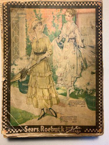Antique Original Sears Roebuck Catalog 1916 No. 132