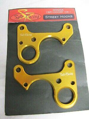 Sato Racing Honda CBR1000RR ('08-) Non-ABS Model Street Hooks - No Screws