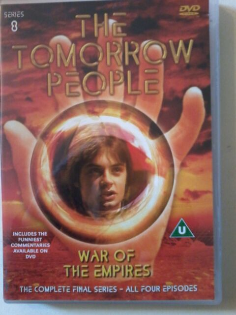 THE TOMORROW PEOPLE - WAR OF EMPIRES - COMPLETE FINAL SERIES - UK DVD