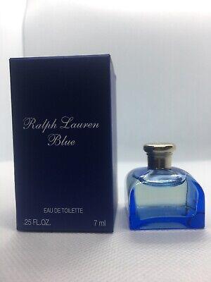 Ralph Lauren Blue Travel Mini EDT Eau de Toilette 7 ml / 0.25 oz Perfume
