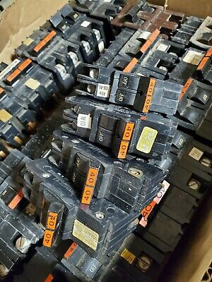 Fpe Federal Pacific Nc240 2pole 40amp 120240v Stab-loc Circuit Breaker Type Nc