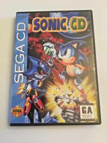 Replacement Case (NO GAME!) Sonic CD - Sega CD