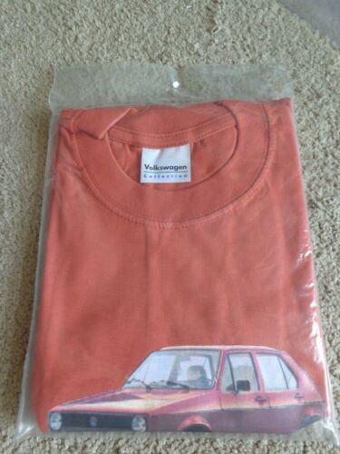 2003 Volkswagen Caribe Rabbit Golf I Tshirt UNOPENED UNUSED OFFICIAL VW PRODUCT