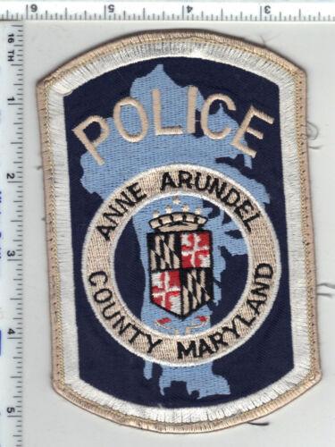 Anne Arundel County Police (Maryland) Uniform Take-Off Shoulder Patch 1980