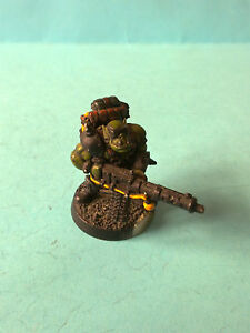 WH40K-Gorkamorka-Space-Ork-with-Big-shoota-Homemade-Pro-painted-Metal-GM06