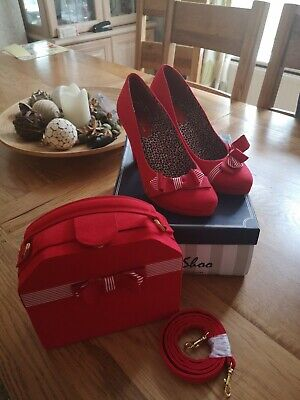 Ruby shoo shoes size 7 Matching bag