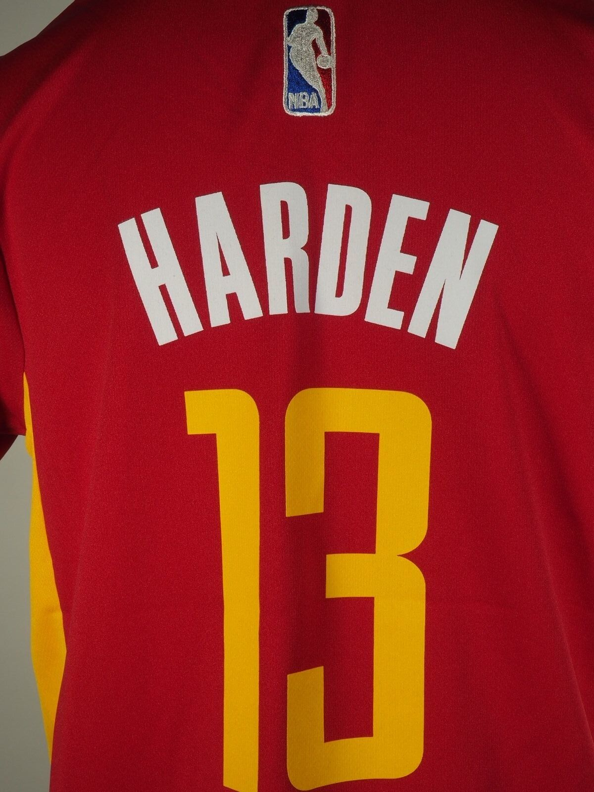 Adidas Houston Rockets Youth Size James Harden Clutch City Alternate Jersey  New d5aaa58a4