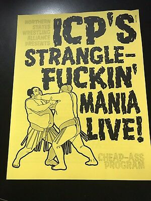 Cheap Clown (INSANE CLOWN POSSE STRANGLE-MANIA LIVE! Cheap-Ass Program - Wrestling ICP)