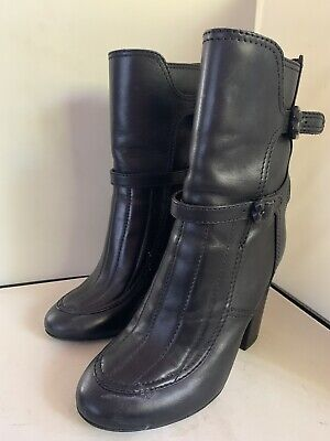 Zadig & Voltaire meets Laurence Dacade Round Toe Ankle Boots Leather Black 38