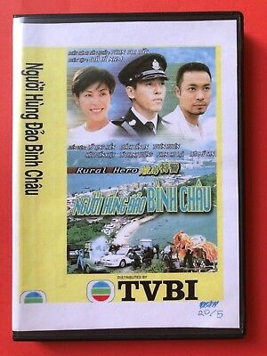 NGUOI HUNG DAO BINH CHAU - PHIM BO HONGKONG - 5 DVD -  USLT