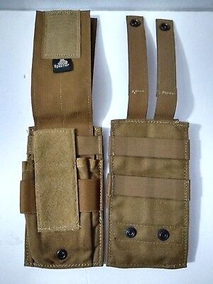 Universal Mag Set-2 EAGLE USMC Coyote Multi-Use Pouch Ammo 7.62x54r EXC!!