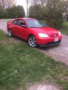 2001 Civic etested with new motor clutch and trans