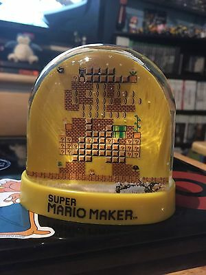 Snow Globe Maker (LIMITED EDITION Super Mario Maker 30th Anniversary Snow Globe - NEW COLLECTIBLE!)
