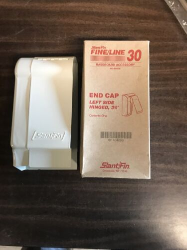 Slant/Fin Fine/Line 30 3-3/4 in. Left-Hand End Cap for Baseb