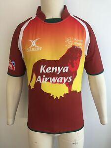 Clearance Line New Kenya Rugby 7s Rugby Match Shirt - Orange - X-Small