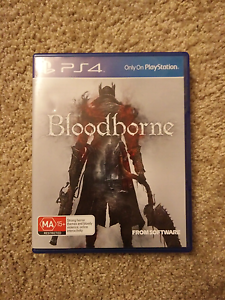 PS4 game - Bloodborne Very Good Condition Adelaide CBD Adelaide City Preview