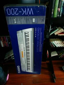 Boxed Casio WK-200 + Keyboard Stand Darlinghurst Inner Sydney Preview