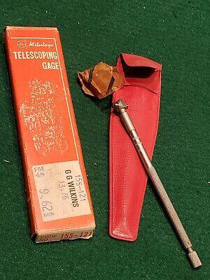 Nos 1970s Era Mitutoyo No.155-121 Telescoping Gage