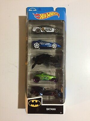"Hot Wheels~2020~""Batman""~City Series~5-Pack~1:64~""Mr. Freeze/ Riddler""~New~NM!"